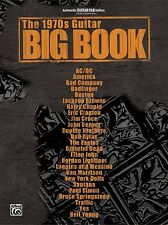 The 1970s Guitar Big Book Sheet Music Guitar Tablature Book NEW 000321448