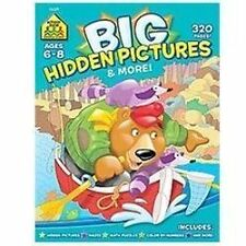 School Zone - Big Hidden Pictures and More Workbook -