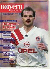 BL 92/93 FC Bayern München - 1. FC Köln