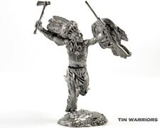 *USA. Indian - Sioux* Tin toy soldiers 54mm miniature figurine. metal sculpture