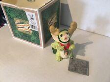 Whimsical World of Pocket Dragons Dragon The Littlest Reindeer 1998 Medallion