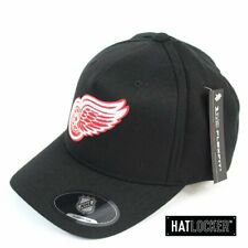Mitchell & Ness - Detroit Red Wings Full Colour Crest 110 Black Curved Snapback