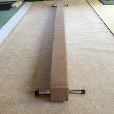Finest Quality GINNASTICA GYM BILANCIERE colore marrone chiaro 8ft di lunghezza ridotta AFFARE