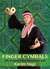 Finger Cymbals: Zills & Sagat Video Instructional with Karim Nagi