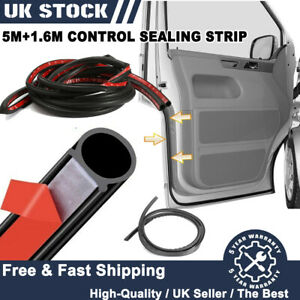 VW T5 T5.1 T6 Transporter Extra Cab Door Seal Upgrade 16 x 16mm Sounds Like Golf