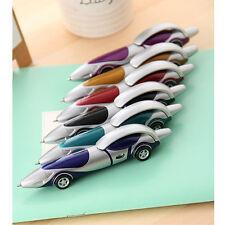 Novelty Design Racing Car Shape Ballpoint Pen Office Child Kids Toy Gift
