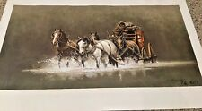 """FRANK MCCARTHY """"NIGHT CROSSING"""" 1978 901/1000 SIGNED AND NUMBERED"""