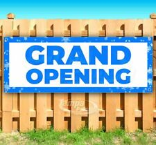 Grand Opening Advertising Vinyl Banner Flag Sign Many Sizes Business Holidays