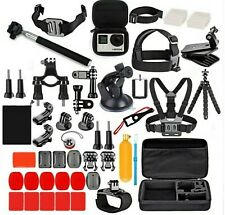 GoPro Hero Action Camera Accessories 77 in 1 Kit for Gopro 8, 7, 6, 5.
