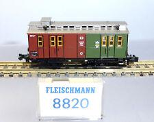 Fleischmann N 8820; Gepäckwagen mit Postabteil KPEV unbespielt in OVP /F920