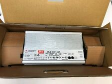 MEAN WELL HLG-600H-24A 600W LED Driver  Power Supply with PFC to IP65 24V DC NEW
