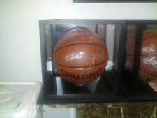 Brooklyn Nets 2013 TEAM SIGNED NBA autographed basketball PSA/DNA letter Lopez +