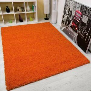 Madiha Shaggy Orange Rug