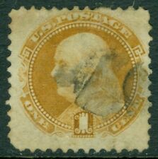 EDW1949SELL : USA 1869 Scott #112 Used. Very small faults. Light cancel Cat $150