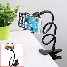 Nuevo Teléfono Móvil Flexible Universal Brazo Largo Escritorio Cama Soporte de mesa Clip Holder UK