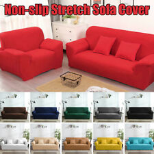 Non-slip Stretch Slipcovers Sectional Elastic Sofa Cover One/Two/Three/Four Seat