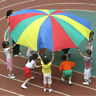 6ft 8 Handle Kids Child Play Rainbow Parachute Outdoor Game Exercise Sport #Buy