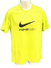 New Nike Air Athletic Dept Mens Training Active Shirt Lime Zest M