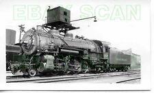 8D629 RP 1938 ROCK ISLAND RAILROAD 2-8-2 ENGINE #2629 SILVIS IL