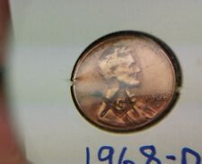 Counter Stamped Lincoln Cent 1968 D Masonic Penny #887