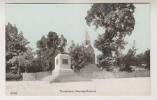 Devon postcard - Tavistock, Drake's Statue