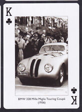 BMW 328 Mille Miglia Touring Coupe (1936) Sport Car.single Playing Card