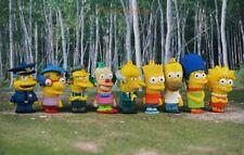 Simpsons Family Bart Lisa Marge Homer Tortenfiguren Kuchendekoration Figur Set9