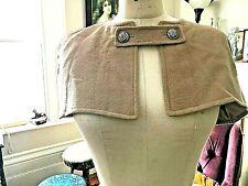 Vtg 50s - 60s Camel Wool Capelet Womens Retro Mid Century Mod Sz Small 10