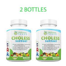 #1 BEST SELLING Herbal All Natural Cholesterol Lowering Supplement | 2 BOTTLES!!
