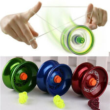 Magic YoYo Aluminum Professional Yo-Yo Bundle Bearing Ball Toy Gift for Kids