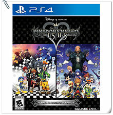 PS4 Kingdom Hearts HD 1.5+2.5 Remix ENG / JAP SONY Square Enix RPG Games