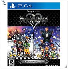 PS4 Kingdom Hearts HD 1.5+2.5 Remix ENGLISH SONY Square Enix RPG Games