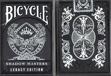 Shadow Masters (Legacy Edition) [Bicycle] Playing Cards - USPCC - Ellusionist