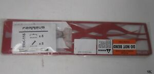 Grille Insert Guard Horizontal Flame Red fits: 09-12 Dodge Ram 1500