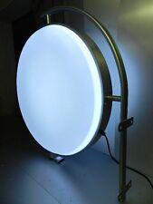 LED Leuchtkasten zweiseitig Rund 60 cm Leuchtreklame Nasenschild Lichtwerbung !!