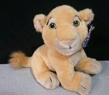 "Lion NALA Plush Disneyland Walt Disney LION KING Baby Stuffed Animal Toy TAG 8"""
