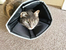 All Four Paws Comfy Cone Elizabethan healing e-Collar in Australia Small BLACK