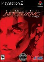 Shin Megami Tensei Nocturne PS2 Sony PlayStation 2 Brand New Sealed!