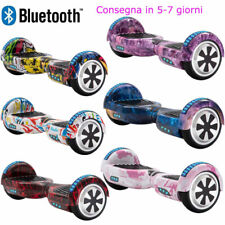 Hoverboard 6,5 Elettrico Scooter Bluetooth 2 Ruote Self Balance Skateboard+Borsa