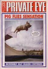 PRIVATE EYE 1035 - 24 Aug - 6 Sep 2001 - Neil Hamilton - PIG FLIES SENSATION
