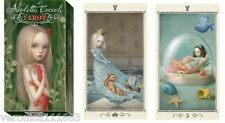 Ceccoli Mini Tarot deck NEW Sealed 78 color card Enchanting Divination Nicoletta