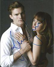 Hand Signed 8x10 photo JAMIE DORNAN in FIFTY SHADES OF GREY Christian + my COA