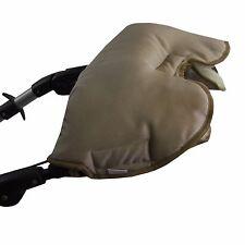 HANDMUFF manicotto mano guanti caldi per passeggino con LANA DI AGNELLO