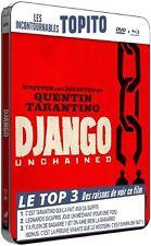 Django Unchained - Blu-Ray & DVD Steelbook - Quentin Tarantino - 2012