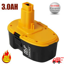 Extended Battery For DeWALT DC9096-2 18Volt XRP 3.0Ah Ni-Cd Cordless Power Tools