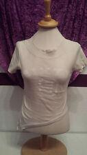 cooles beige nude farbes Shirt Top T-Shirt von Madonna, Gr. M