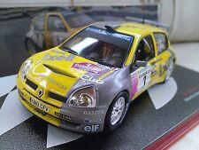 #2 RENAULT CLIO S1600 HEVIA AVILES 2004 Modello Pressofuso Auto da Rally 1/43 IXO