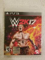 WWE 2K17 PS3 Playstation Last WWE On PS3 RARE COMPLETE BROCK LESNAR FREE S/H