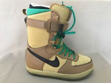 NIKE Zoom Force ZF1 Women Snowboarding Boots inner laceup soles Size 9 / EU 40.5