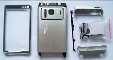 Full Housing case fascia facia cover faceplate for Nokia N8 Silver N 8 --000